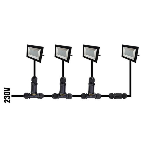 Lightexpert LED Breedstraler 100W - 8000 Lumen - 4000K