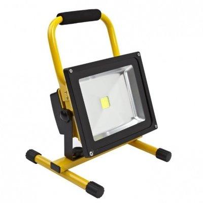 LED Bouwlamp Accu 30W - 1750Lm - 6000K