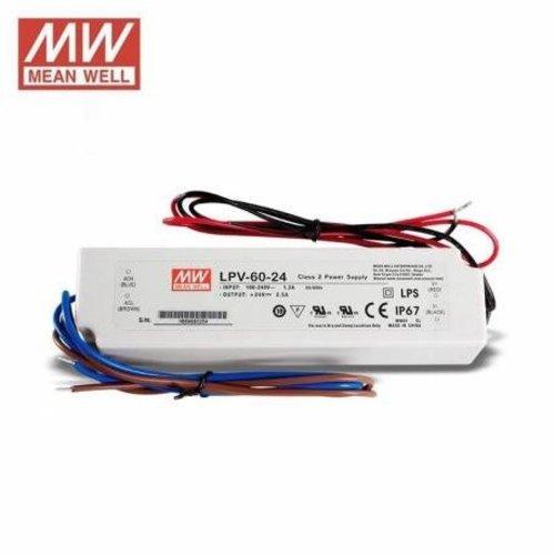 Lightexpert Meanwell LED driver 60W