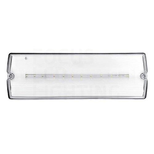 Lightexpert LED Noodverlichting Opbouw - incl. accu en testknop - IP65 - 3W
