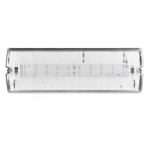 Lightexpert LED Noodverlichting Opbouw - incl. accu en testknop - IP65 - 6,5W