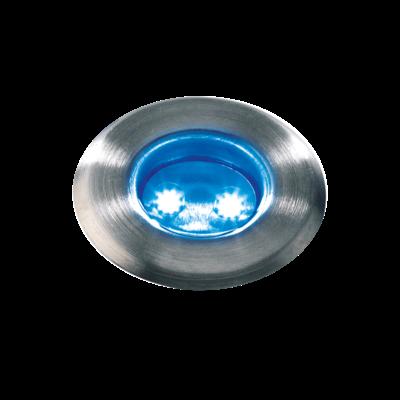 Grondspot Buiten -  Astrum Blauw - 12V - 0,5W