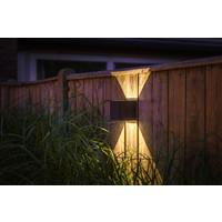 Garden Lights Wandlamp Buiten LED - Mauri Zwart- 12V - 3W