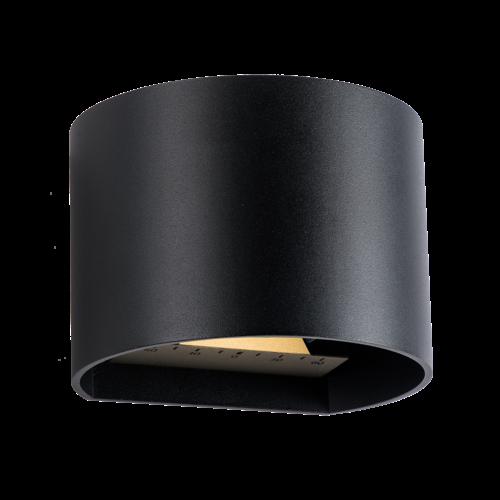 Garden Lights Wandlamp Buiten LED - Goura Zwart- 12V - 3W