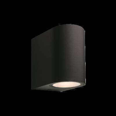 Wandlamp Buiten LED - Gilvus Zwart - 12V - 4W