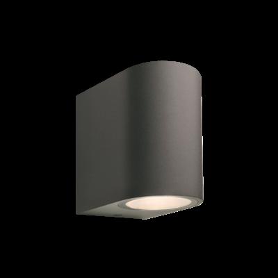 Wandlamp Buiten LED - Gilvus Antraciet - 12V - 4W