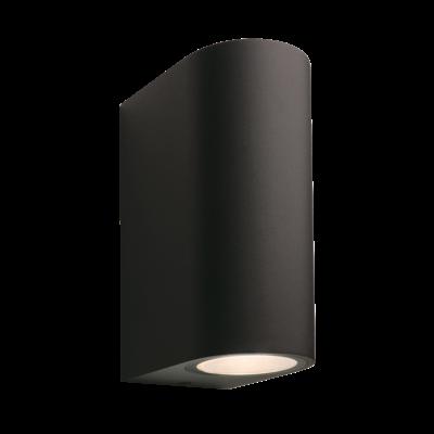 Wandlamp Buiten LED - Sibus  Zwart - 12V - 4W