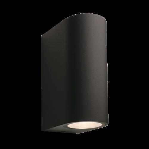 Garden Lights Wandlamp Buiten LED - Sibus  Zwart - 12V - 4W