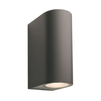 Garden Lights Wandlamp Buiten LED - Sibus  Antraciet - 12V - 4W