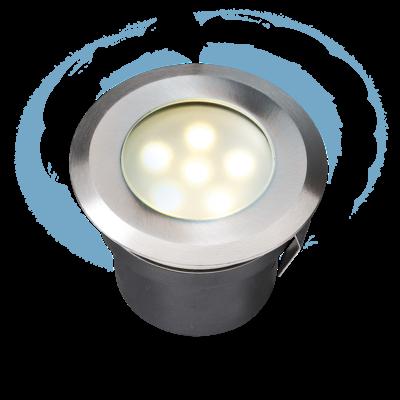 Grondspot Buiten LED -  Sirius Wit - 12V - 1W