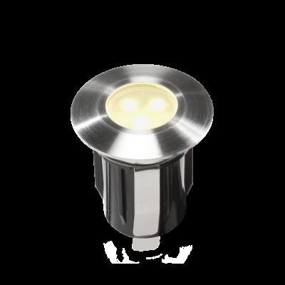 Grondspot Buiten LED -  Alpha Warm Wit - 12V - 0,5W