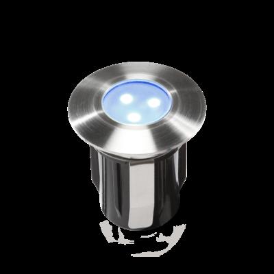 Grondspot Buiten LED -  Alpha Blauwe - 12V - 0,5W