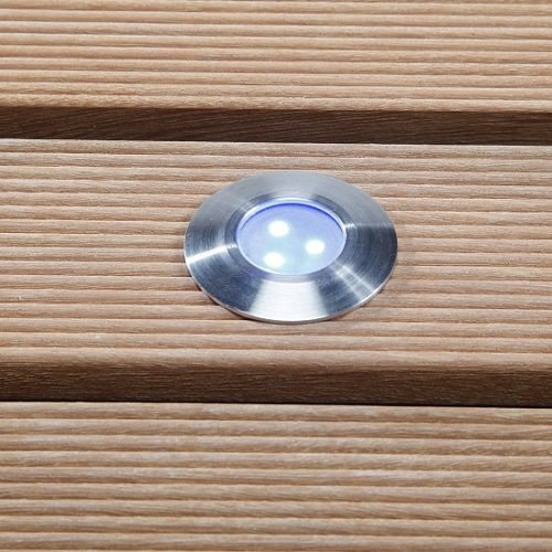 Garden Lights Grondspot Buiten LED -  Alpha Blauwe - 12V - 0,5W