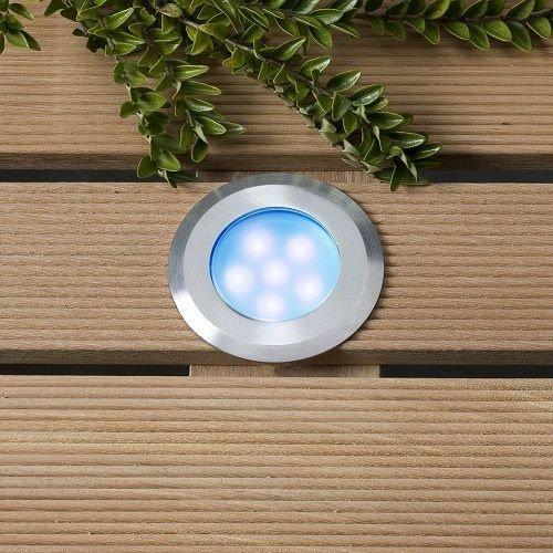 Garden Lights Grondspot Buiten LED -  Sirius Blauw - 12V - 1W