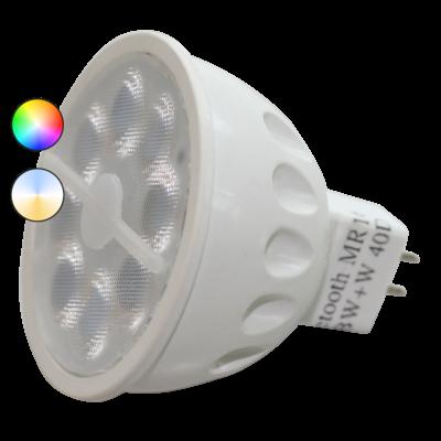 Smart LED RGB Lichtbron - MR16 - 12V - 5W