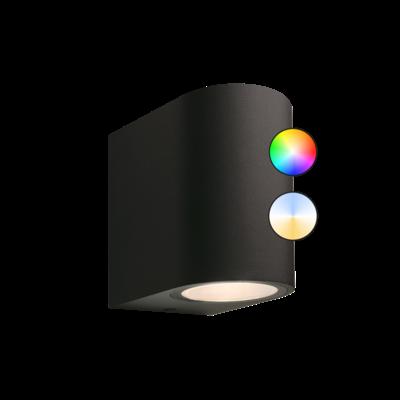 Smart Wandlamp Buiten LED - Gilvus Plus - 12V - 4W
