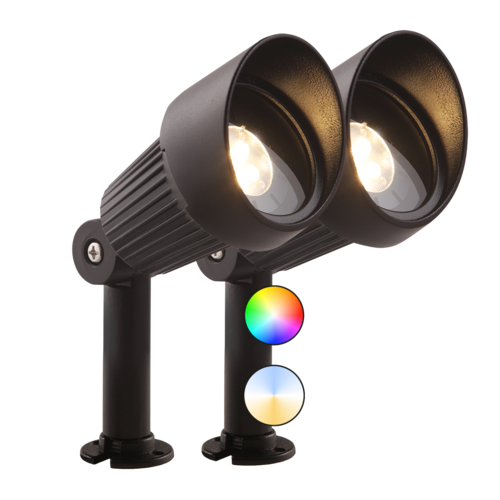 Garden Lights Smart Tuinspot LED - Focus Plus set van 2 st - 12V - 5W