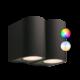 Smart Wandlamp Buiten LED - Gilvus Plus set - 12V - 4W