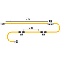 Garden Lights Hoofdkabel Vast 10m - SPT-1 - 12V