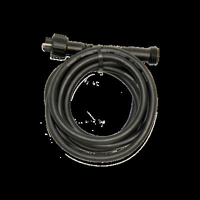 Rubber Verlengkabel - 5 meter - 12V