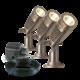 Tuinspot LED - Minus set van 3st - 12V - 2W
