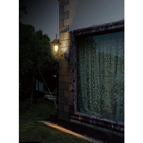 Lightexpert.nl Klassieke Wandlamp Koper Buiten - Oaxaca - E27