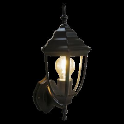 Klassieke Wandlamp Buiten Zwart - Tijuana - E27