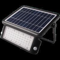 Shada LED Buitenlamp op Zonne Energie - Incl. Sensor - Zwart
