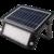 LED Buitenlamp op Zonne Energie - Incl. Sensor - Zwart
