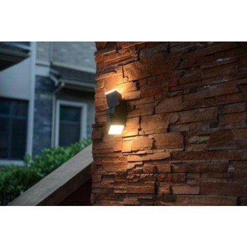 Lightexpert LED Wandlamp Buiten Antraciet - Oslo - 1200 lm - 13W - 2700K