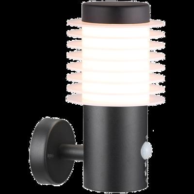 LED Wandlamp Zwart - Dresden - 700lm - 9,5W - 2700K