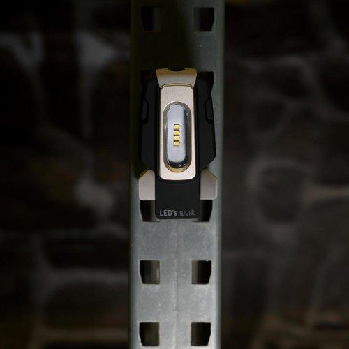 Shada Oplaadbare LED Zaklamp 2W - 200lm - Incl. Power Bank