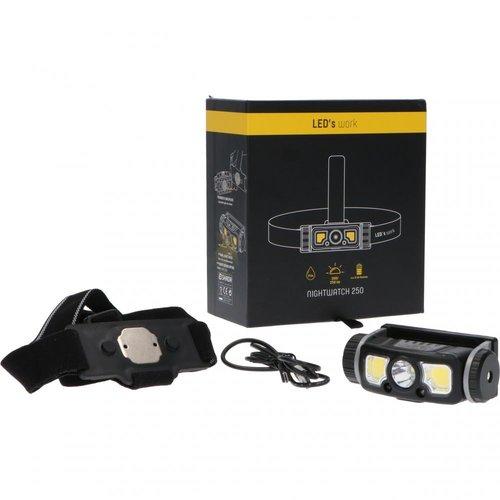 Shada LED Hoofdlamp Oplaadbaar - 250lm