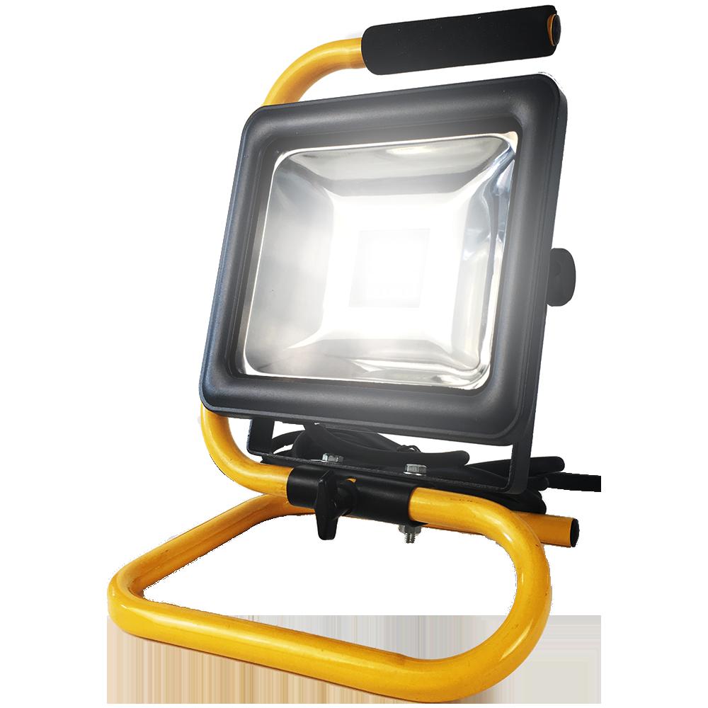LED Bouwlamp 30W met frame - 2100lm - 4000K