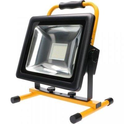 Oplaadbare LED Bouwlamp 50W - 3500lm - 6000K