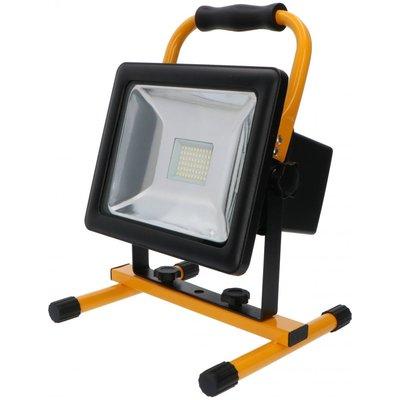 Oplaadbare LED Bouwlamp 30W - 2100lm - 6000K