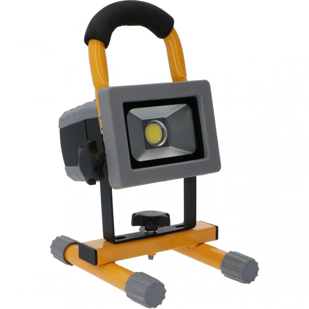Oplaadbare LED Bouwlamp 10W - 750lm - 6500K