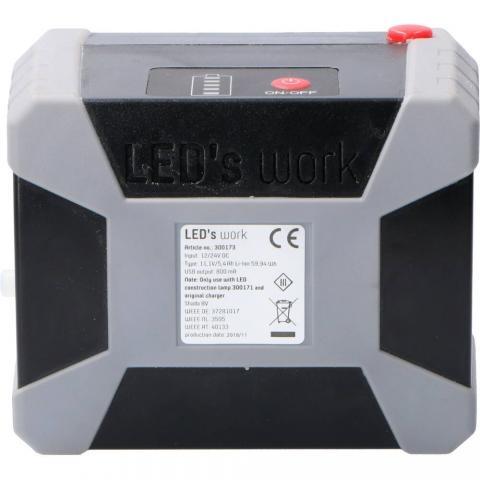 20W Batterij - incl power bank