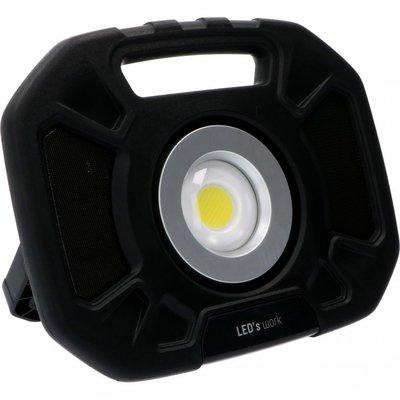 Oplaadbaar LED werklamp + speaker - 25W - 4000lm
