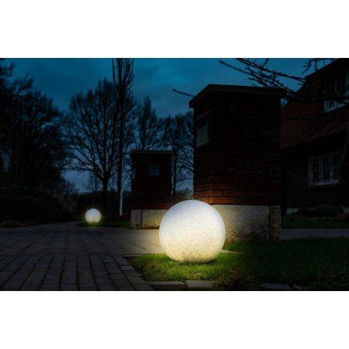 Shada Buitenlamp Rond met sensor - 30cm - 806lm