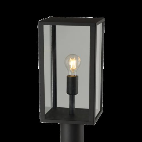 Shada Staande Buitenlamp E27 - IP44 - Zwart