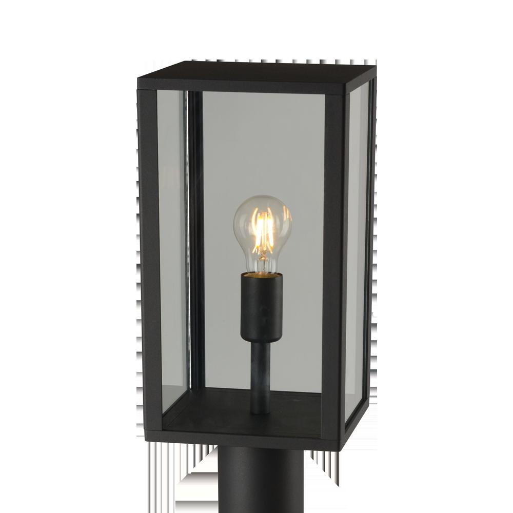 Staande Buitenlamp E27 - IP44 - Zwart
