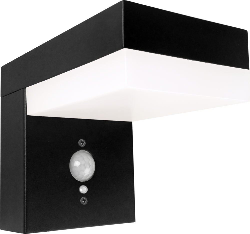 Solar Wandlamp met Sensor - 6W - 600 Lumen