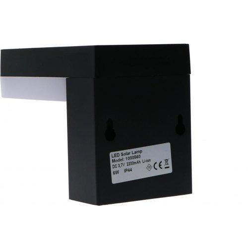 Shada Solar Wandlamp met Sensor - 6W - 600 Lumen