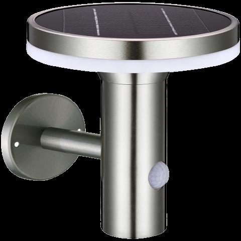 Solar Wandlamp met Sensor - 6W - 600lm
