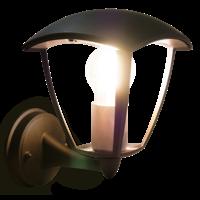 Shada Klassieke Wandlamp Buiten Zwart - E27
