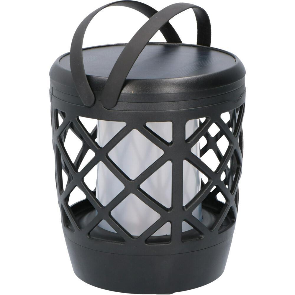 Solar LED tuinfakkel zwart - 50lm - IP65
