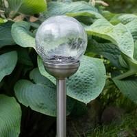 Shada Solar LED Tuinlamp bol - 6cm - IP44