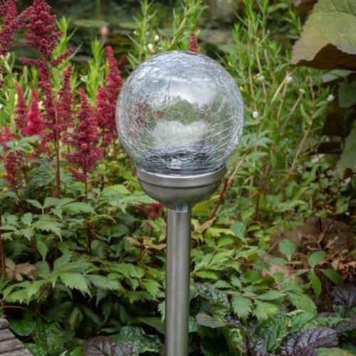 Shada Solar LED Tuinlamp bol - 8cm - IP44