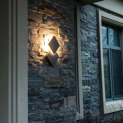 Shada LED Wandlamp buiten - Berlijn - 12,5W - 1200lm